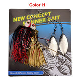 Fishy™ Premium Spinner Fishing Lures Pack [4PCS]