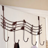 Guitarist Premium Music Notes Hook Organizer