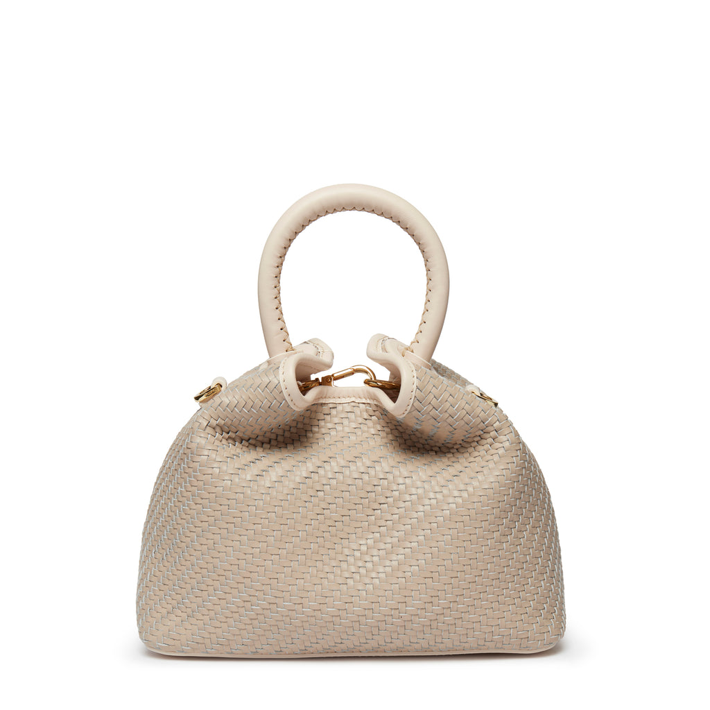 Baozi <span>Woven Leather Beige<span>Delivery end of August</span>