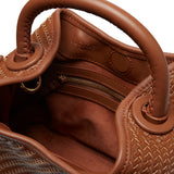 Baozi <span>Woven Leather Brown</span>