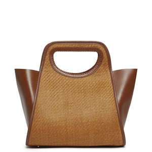 Cupidon Medium - Raffia Brown <span>Cognac</span>