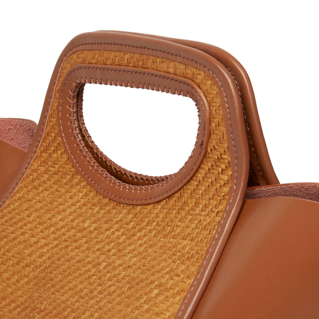 Cupidon Medium <span>Raffia Brown / Cognac</span>