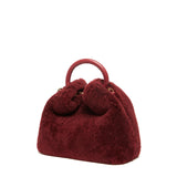 Baozi - Shearling Teddy Burgundy
