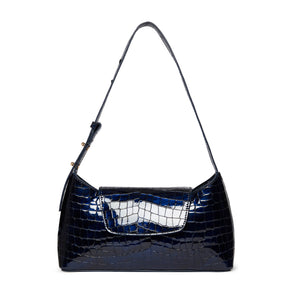 Envelope Croco Pearl Navy