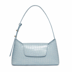 Envelope Croco Pearl Sky Blue
