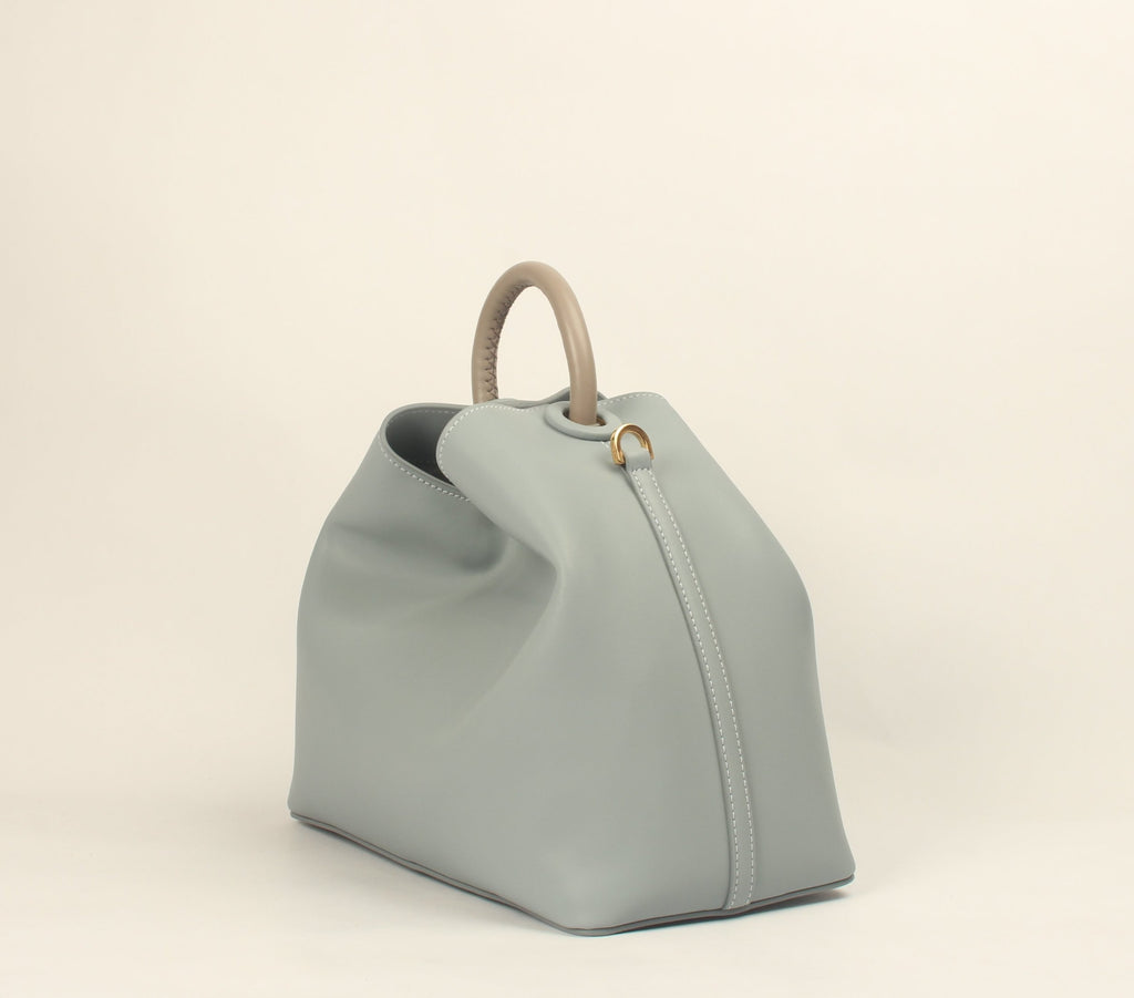 Raisin - Grey Blue (Taupe Handle) / Delivery End-March