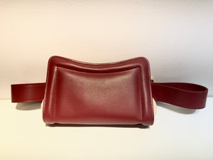 Banane Belt Bag- Red Prune/Pink