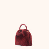 Madeleine Shearling <span>Montone Red Prune</span>