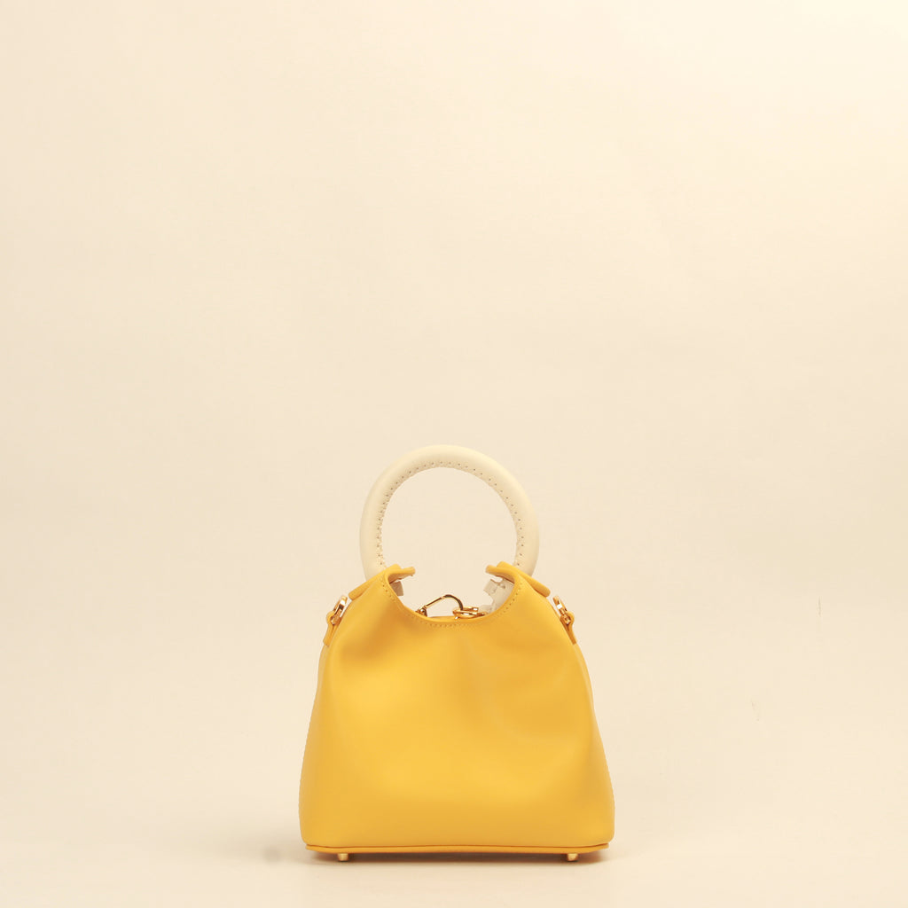 Madeleine - Yellow / White