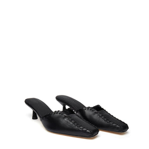 Mules Stitch <span>Black