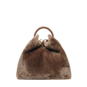 Raisin Shearling Montone Taupe / Delivery in 2 Weeks