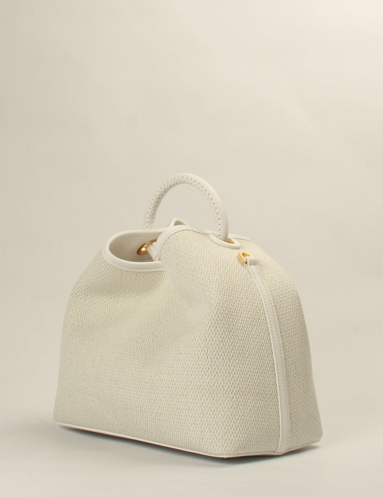 Raisin Raffia White