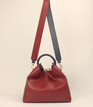 Raisin - Red Prune (Navy Handle)
