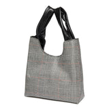 Shopper <span>Plaid Grey</span>