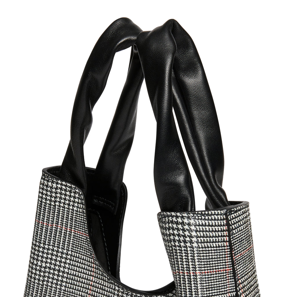Shopper - Plaid Grey