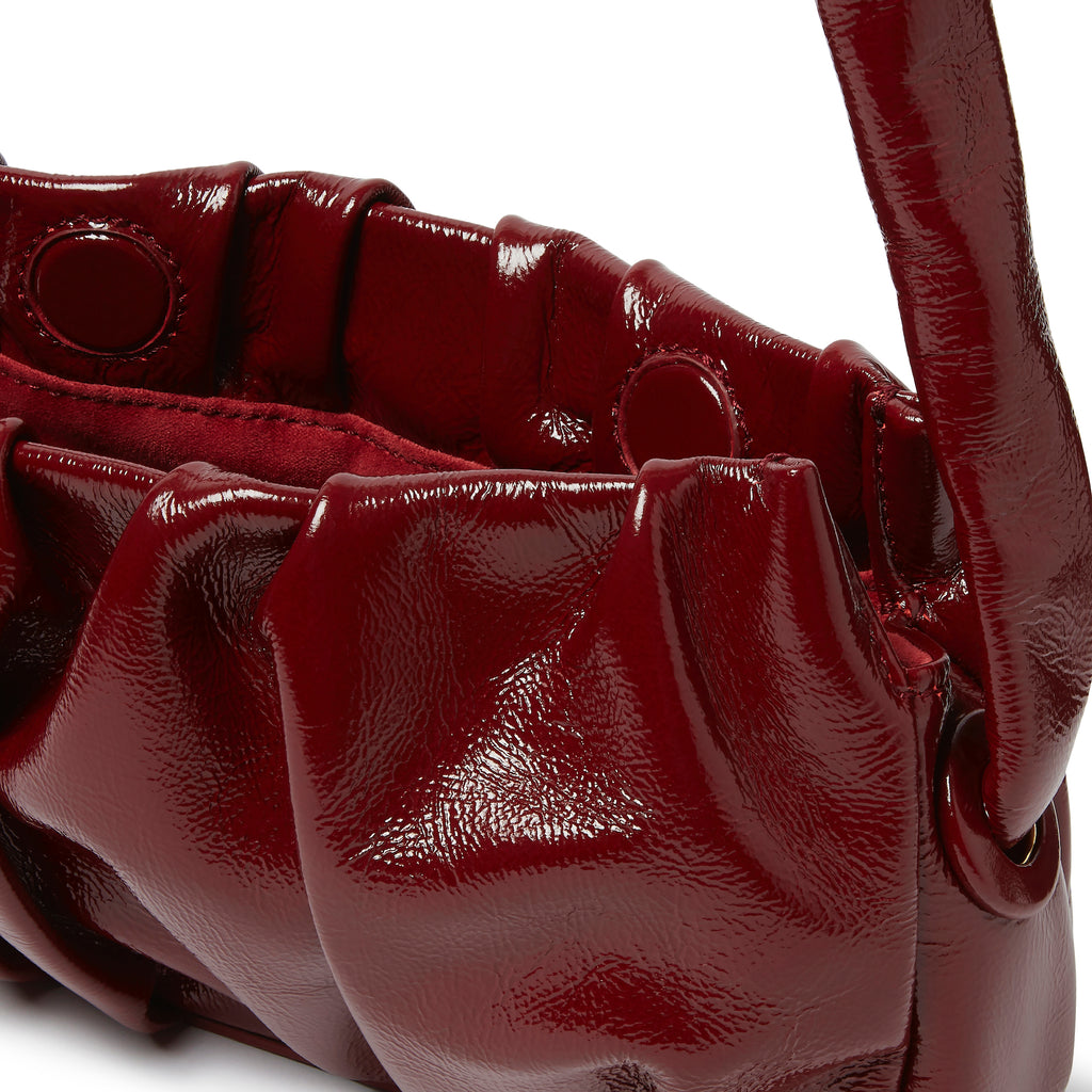 Vague Patent Burgundy