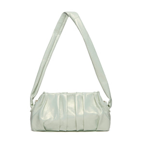 Vague Pearl Leather Pastel Green