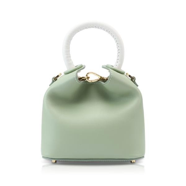 Madeleine - Mint / White