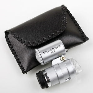 Pocket-Sized Mini Microscope