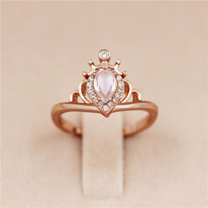 Aphrodite™ Adjustable Moonstone Ring - Renaly
