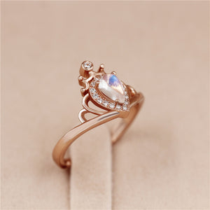 Aphrodite™ Teardrop Moonstone Ring - Renaly