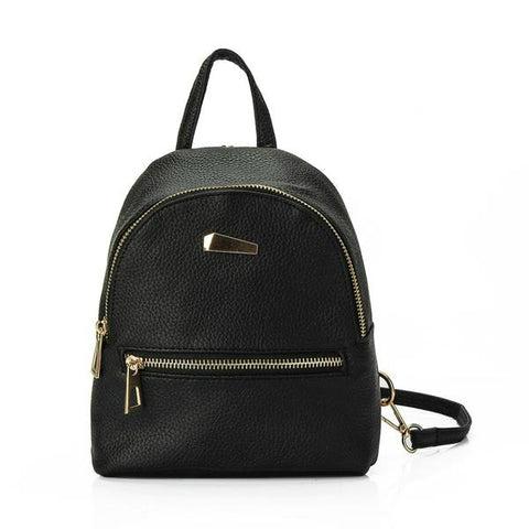 Mini Leather Backpack - Renaly