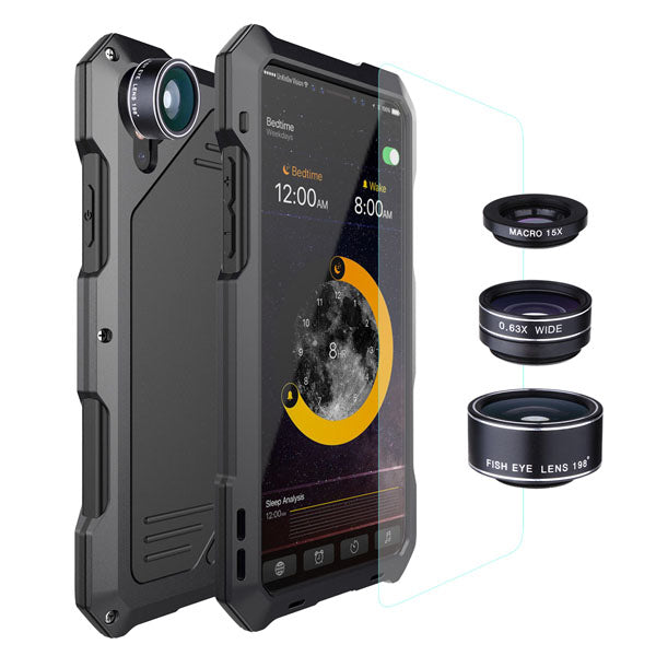 Armor Fisheye Lens iPhone Case - Renaly