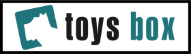 Dog toys box store logo