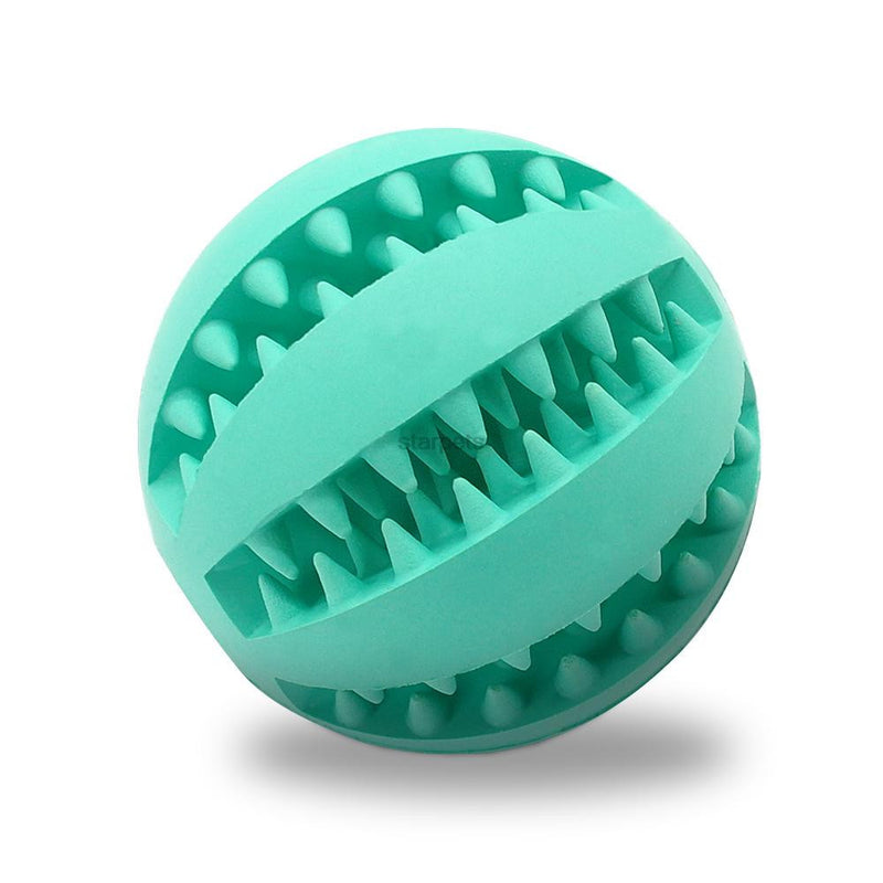 Soft Rubber Chew Ball Toy For Dogs Dental Bite Resistant Tooth - Dog Toys Box