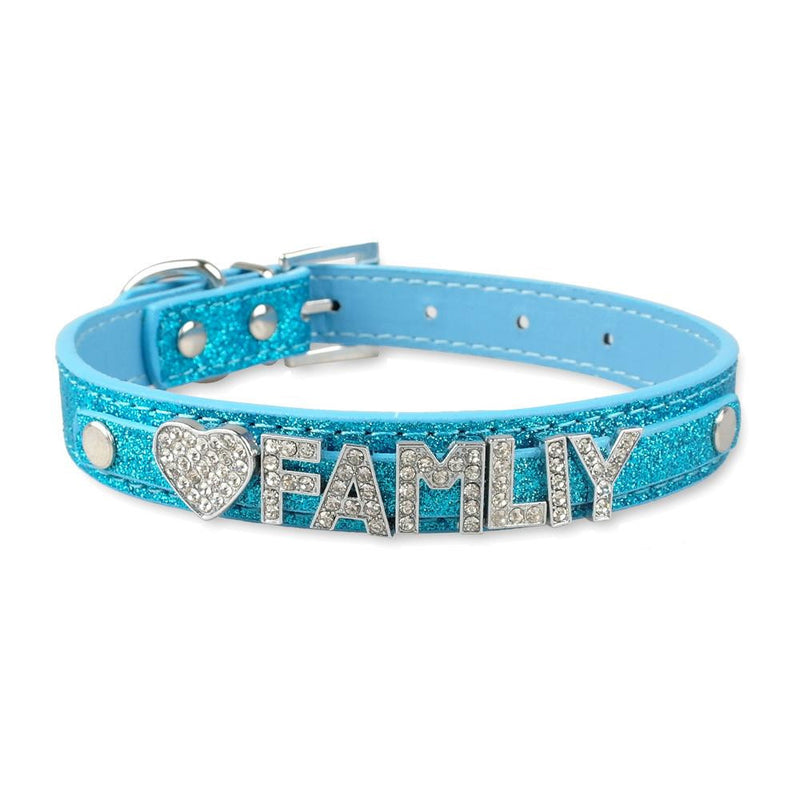 Dog Pet Puppy Collars Customized Personalized - Dog Toys Box