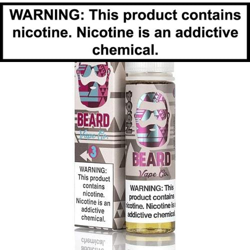 Beard Vape Juice Collection 60ml-7