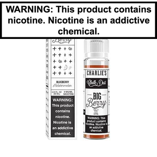 Charlie's Chalk Dust White Vape Juice Collection 60mL-2