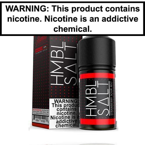 HMBL SALT Strawberry Sour Belt 30ml Nic Salt Vape Juice