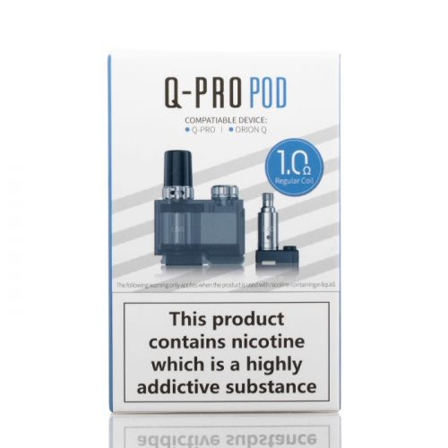 Lost Vape Orion QPRO Cartridge and Coil Combo-