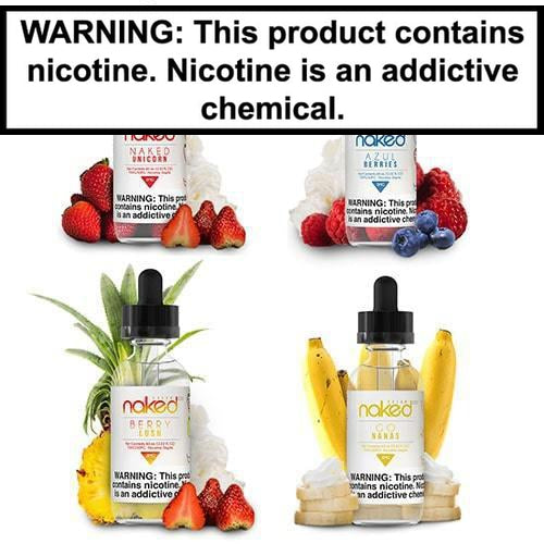Naked 100 Cream Vape Juice Collection 60ml-1
