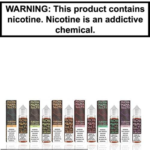 Pachamama Sub-Ohm Salts Vape Juice Collection 60ml-1