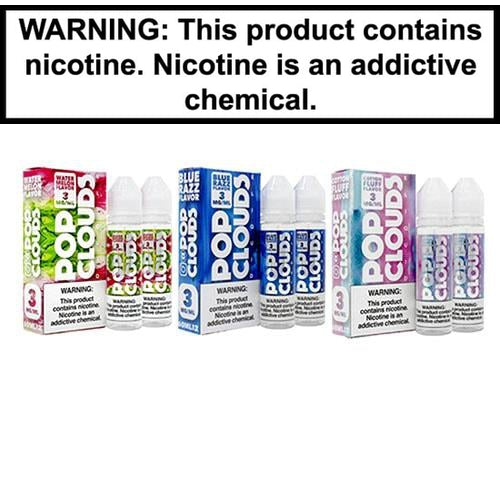 Pop Clouds Vape Juice Collection 120ml-1