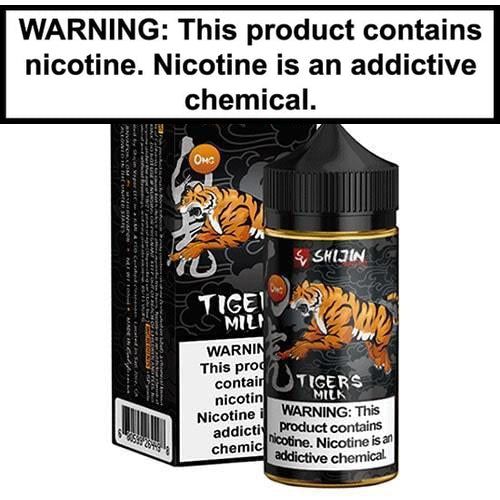 Shijin Vapor Tigers Milk V2 Vape Juice 100ml-1