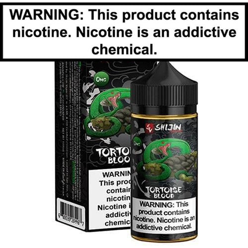 Shijin Vapor Tortoise Blood Vape Juice 100ml-1