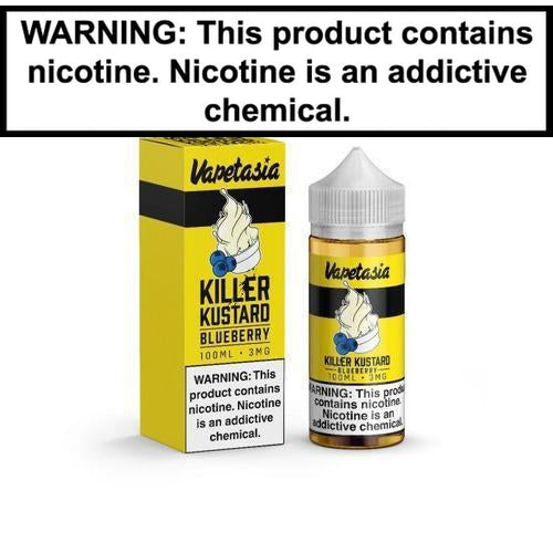 Vapetasia Killer Kustard Blueberry 100ml Vape Juice-1