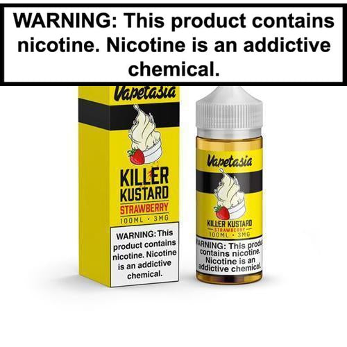 Vapetasia Killer Kustard Strawberry 100ml Vape Juice-1