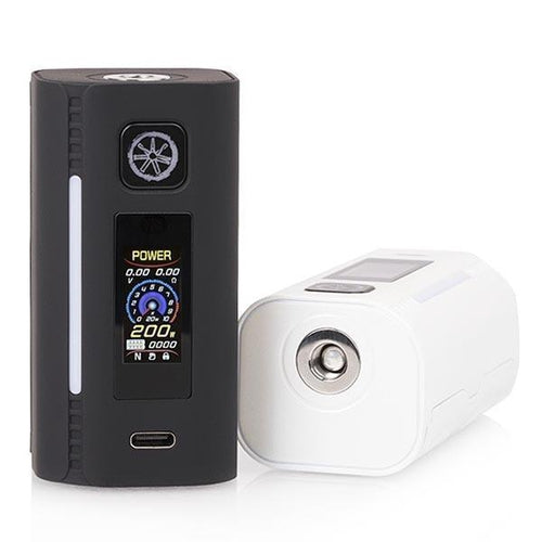 asMODus Lustro 200W Touch-Screen Box Mod Yellow / No Thank You