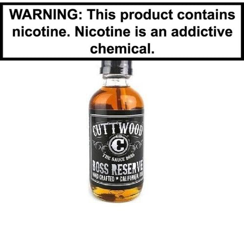 Cuttwood Boss Reserve Vape Juice 120ml-1