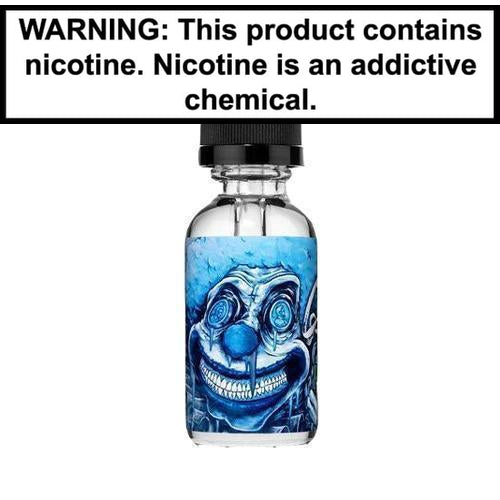 Clown Circus Salts Pennywise ICED OUT Nic Salt Vape Juice 30ml 25MG