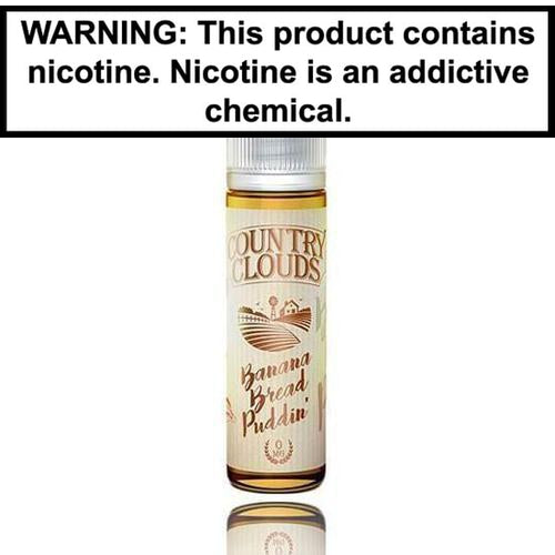 Country Clouds E-Liquid Banana Bread Puddin 60ml