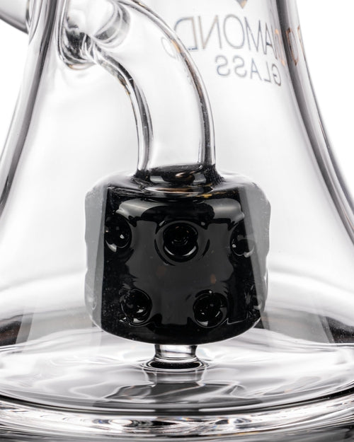Big Puck Dab Rig by Diamond Glass-7