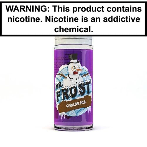 Dr. Frost Vape Juice Collection 100ml Grape ICE 0MG