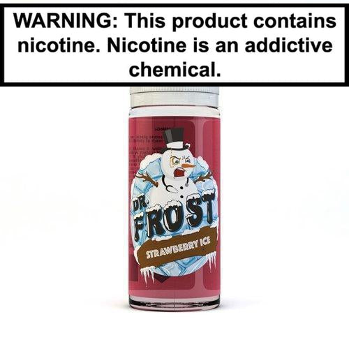 Dr. Frost Vape Juice Collection 100ml Strawberry ICE 0MG