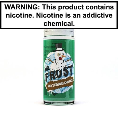 Dr. Frost Vape Juice Collection 100ml Watermelon ICE 0MG