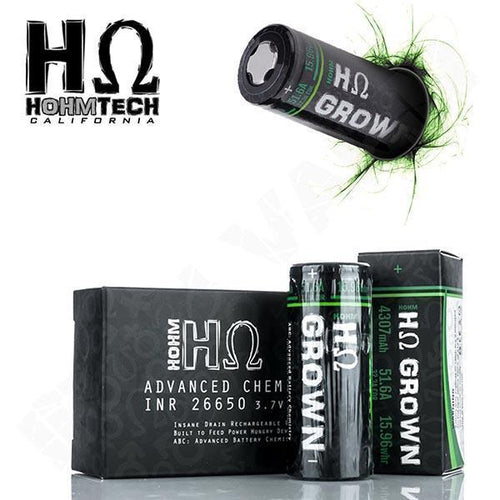 HohmTech HohmGROWN 26650 Batteries-1